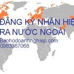 Hình thức đăng ký nhãn hiệu ra nước ngoài